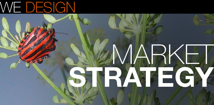 We design marketing strategies
