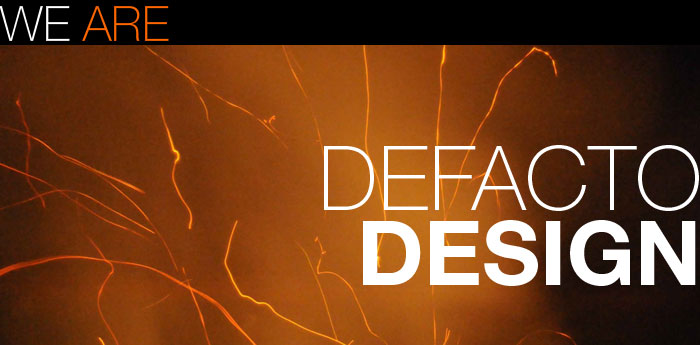 We are Defacto Design